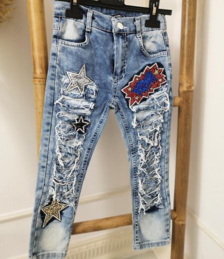 Spodnie jeansowe dziewczęce LILI