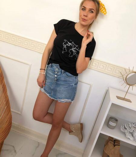 T-shirt Travel Black