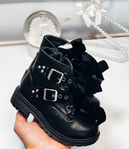 botki VELVET black 1