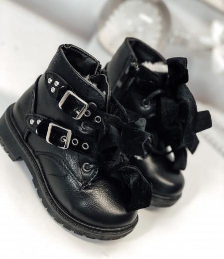 botki VELVET black 2