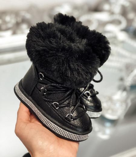 kozaczki CRYSTAL black