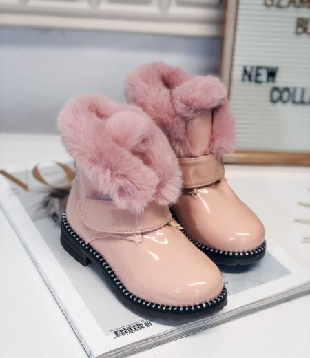botki PEPA pink 2