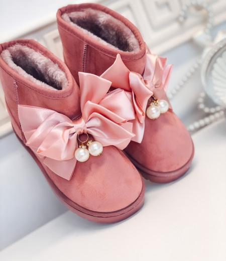 śniegowce PEARLS pink