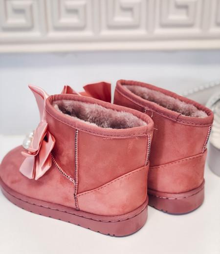 śniegowce PEARLS pink 2