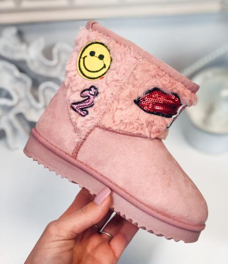 śniegowce HAPPY pink