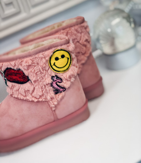 śniegowce HAPPY pink 1