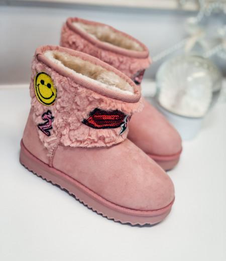 śniegowce HAPPY pink 2