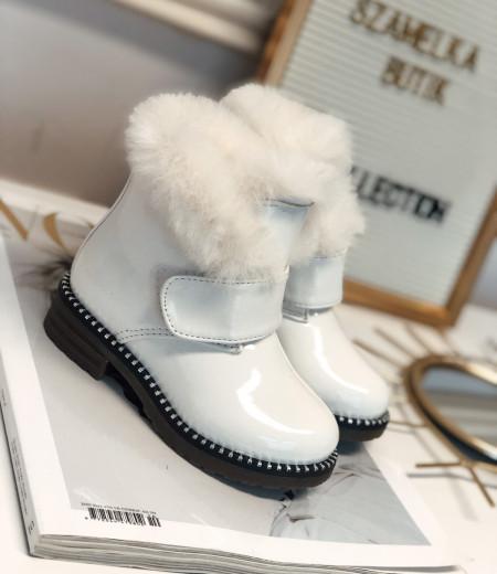 botki PEPA white 2