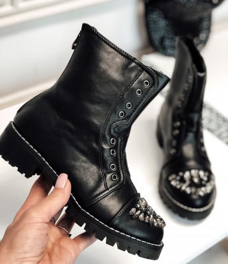 botki MIU black