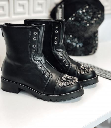 botki MIU black 1