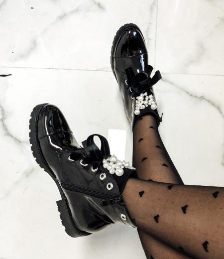 botki PEARLS black 6