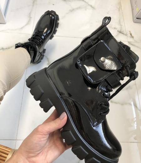 botki ARIA POCKET black