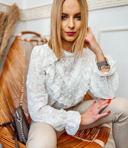 bluzka MILAGROS white 2