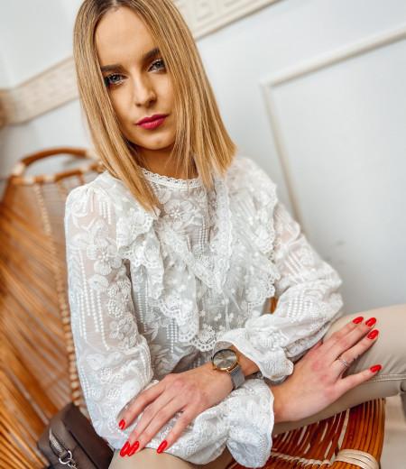 bluzka MILAGROS white 4