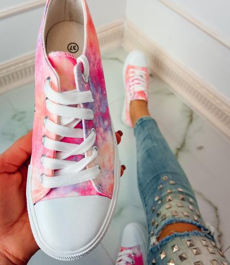 trampki TIE DYE pink 2