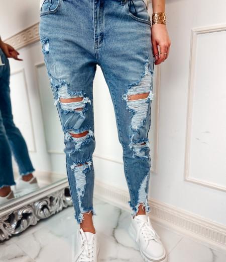 jeansy boyfriend z przetarciami CLEO 1