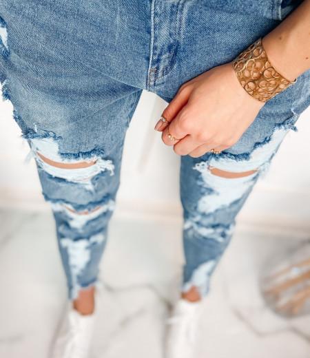 jeansy boyfriend z przetarciami CLEO 2