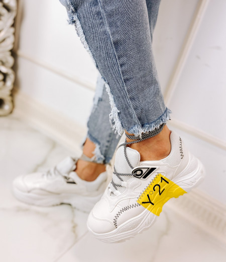 sneakersy ZIG YELLOW
