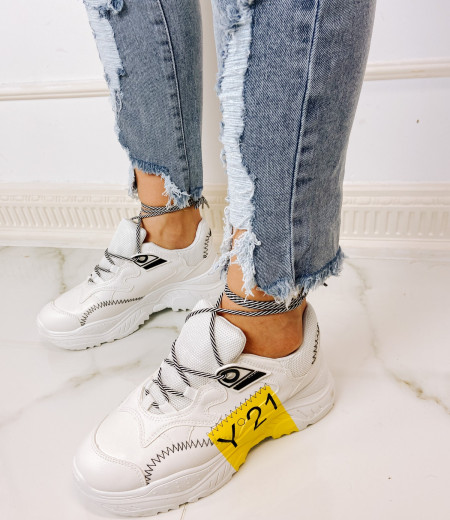 sneakersy ZIG YELLOW 1