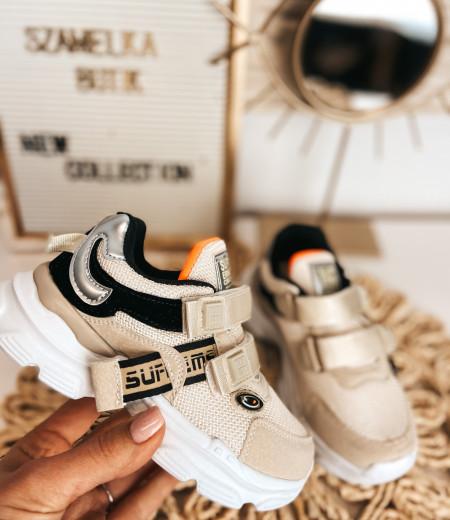 sneakersy ARIEL BEIGE