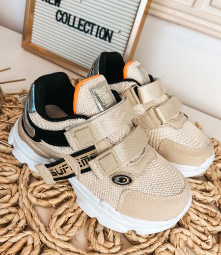 sneakersy ARIEL BEIGE 2