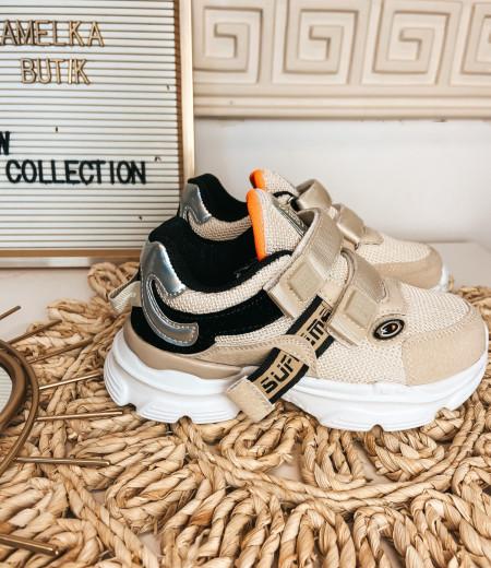 sneakersy ARIEL BEIGE 3