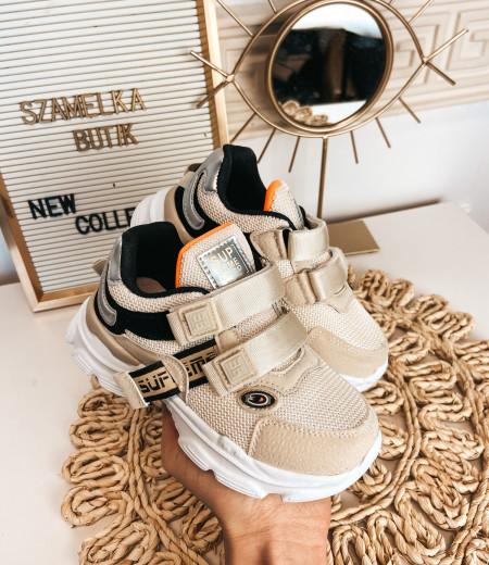 sneakersy ARIEL BEIGE 4