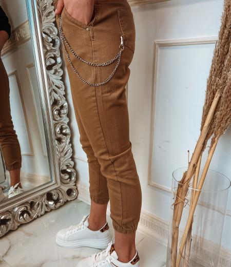 spodnie z łańcuchem BROWNIE 2