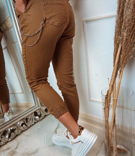 spodnie z łańcuchem BROWNIE 5