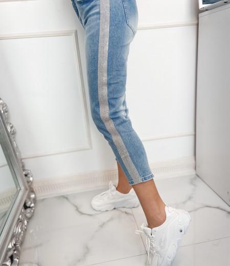 spodnie KRYSTAL blue