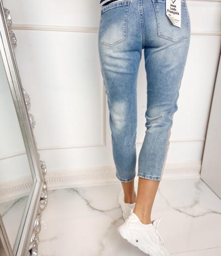 spodnie KRYSTAL blue 3