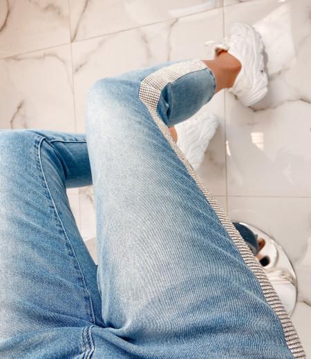 spodnie KRYSTAL blue 5
