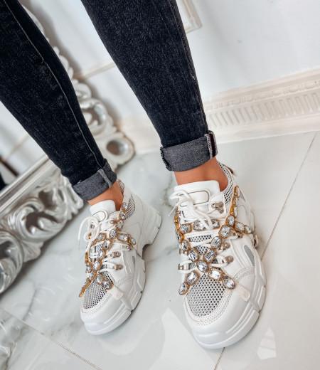 sneakersy BRILLANT white