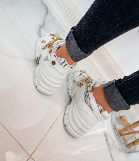 sneakersy BRILLANT white 1