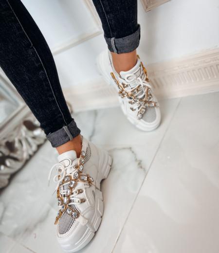 sneakersy BRILLANT white 5