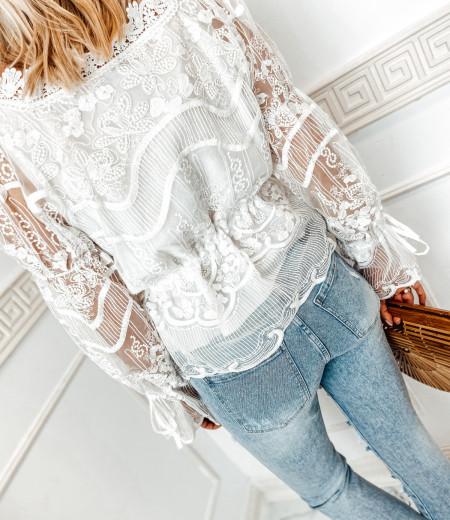 bluzka LAURA boho white 7