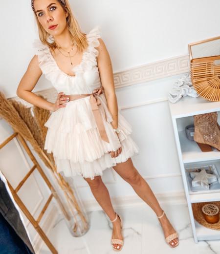 sukienka SARA short ecru 4