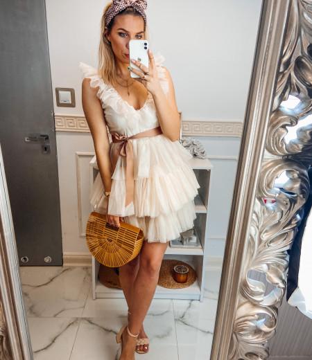 sukienka SARA short ecru 5