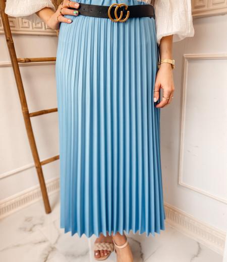 spódnica plisowana LISA blue