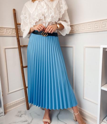 spódnica plisowana LISA blue 2