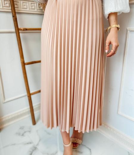 spódnica plisowana LISA pink
