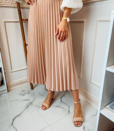 spódnica plisowana LISA pink 1