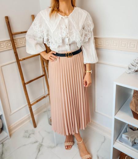 spódnica plisowana LISA pink 2