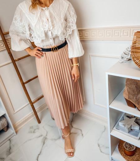 spódnica plisowana LISA pink 3