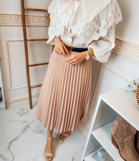 spódnica plisowana LISA pink 4