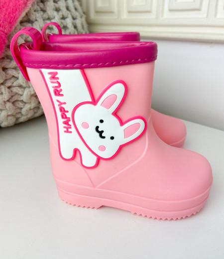 kalosze BUNNY pink 2