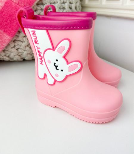 kalosze BUNNY pink 3