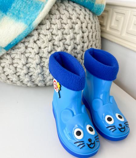 kalosze MOUSE blue 1