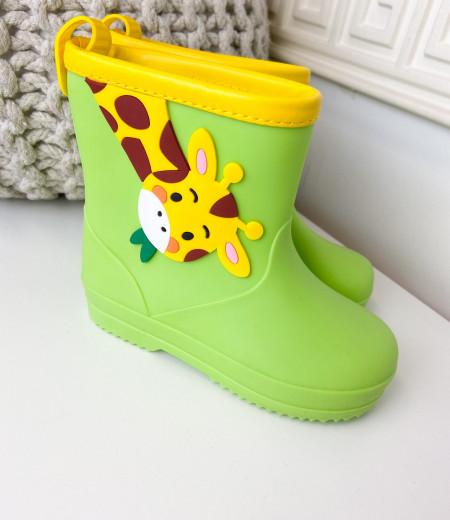 kalosze GIRAFFE green