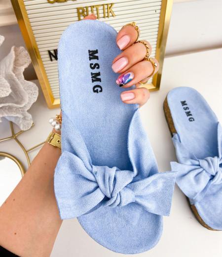 klapki DAISY blue 1